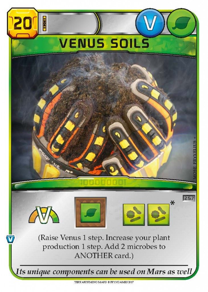 Venus Soils