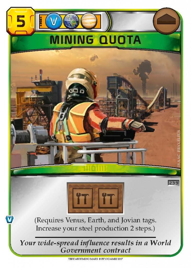 Mining Quota