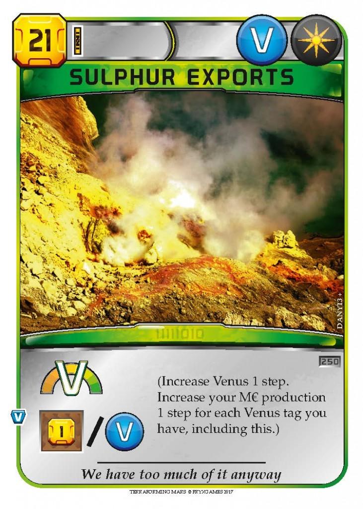 Sulphur Exports