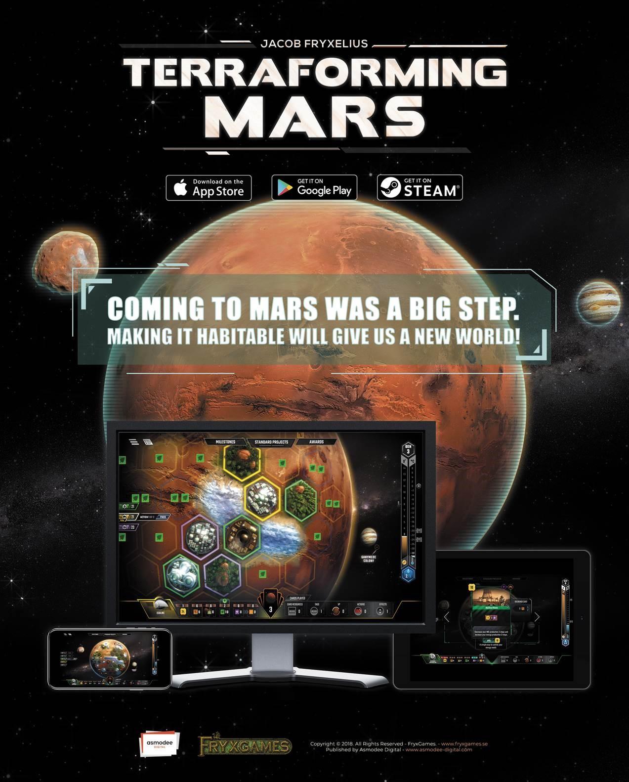 Terraforming Mars Pc Game: Terraforming Mars Digital